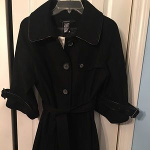 Arden B Wool Trench Coat